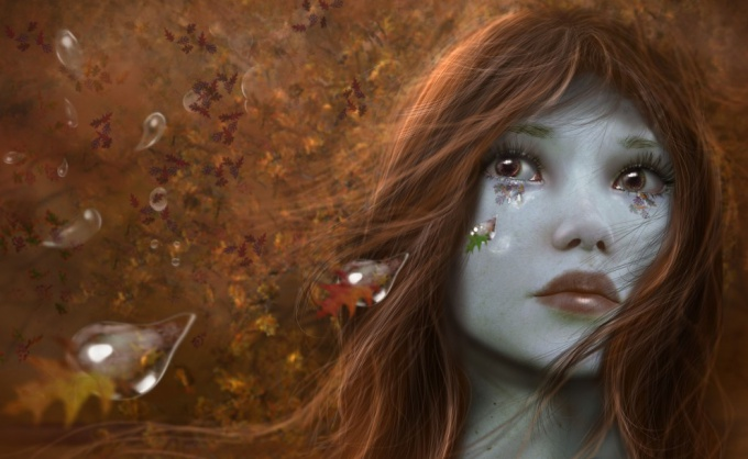 Как рисовать слезы