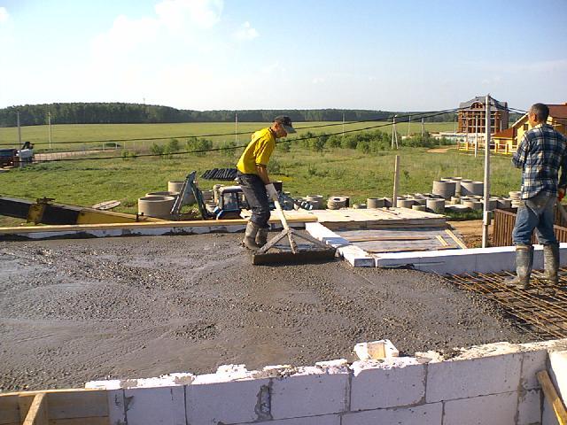 Как сделать бетон для фундамента
