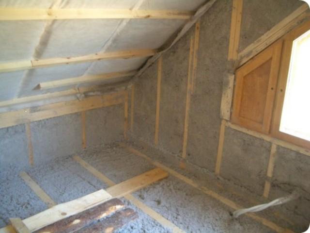 Как утеплить крышу в доме