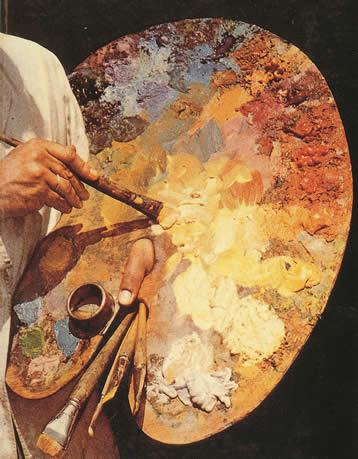 Как рисовать маслянной краской
