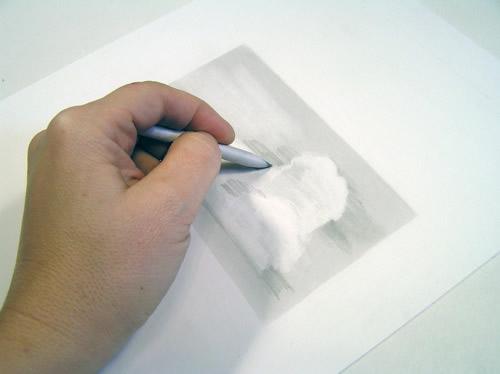 Как рисовать облака карандашом