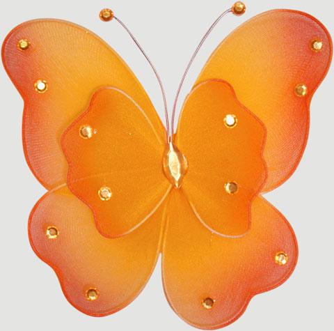сделать бабочку на шторы