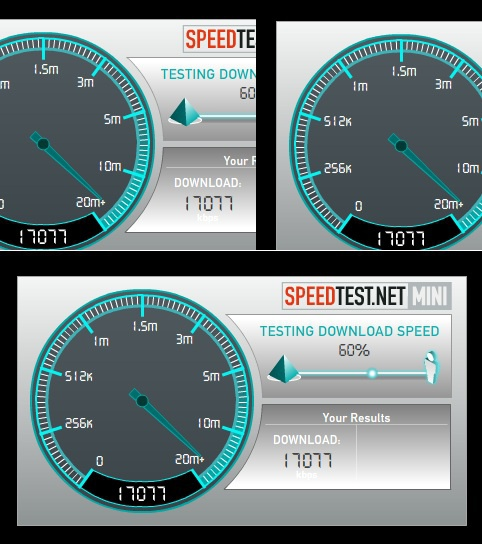 How to know the download speed
