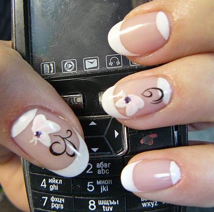 Как рисовать на коротких <strong>ногтях</strong>