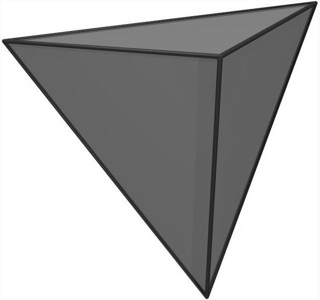 Как найти объем тетраэдра.
