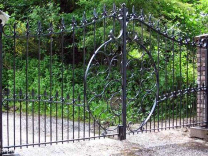 Как построить ворота