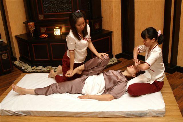 Тайский массаж.