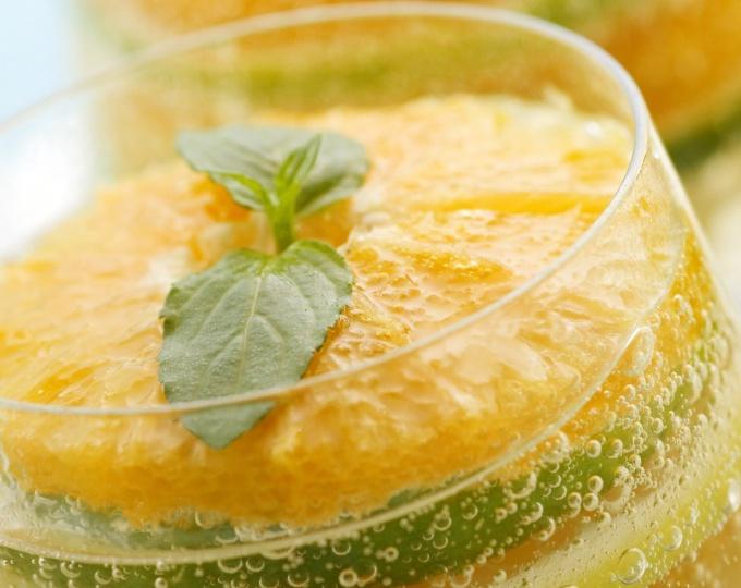 Как сделать фруктовое желе