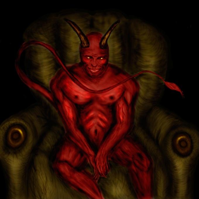 Как рисовать демона