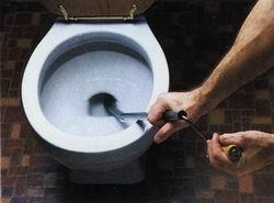 Следите за чистотой вашего унитаза.