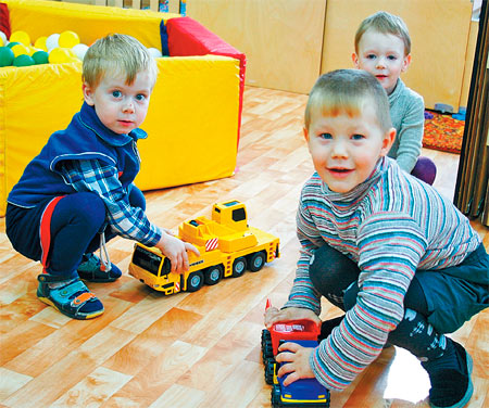 How to arrange in a kindergarten of the child in St. Petersburg