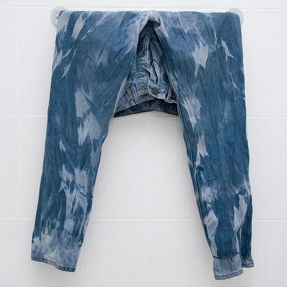 Как сделать джинсу вареной