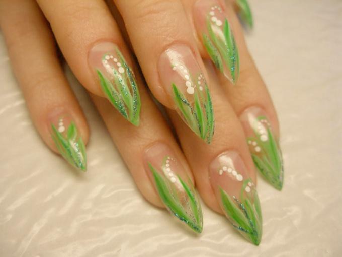 Как сделать красивые ногти в домашних условиях