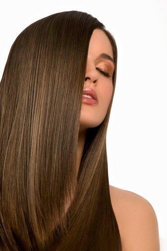 Как убрать пушистость волос
