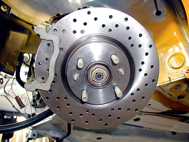 Как сделать задние дисковые тормоза на ваз