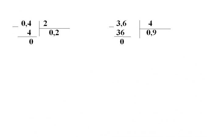 Как разделить дробь на целое число