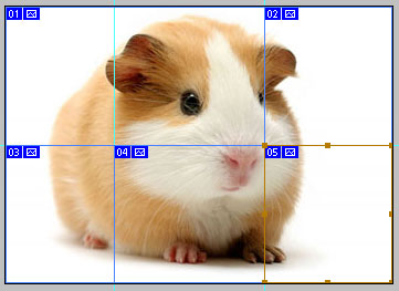 Как разделить одну картинку на несколько частей