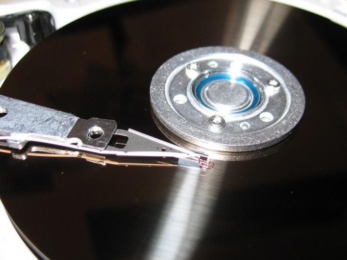 Как разделить диск на две части