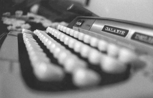Псевдографика появилась еще на печатных машинках