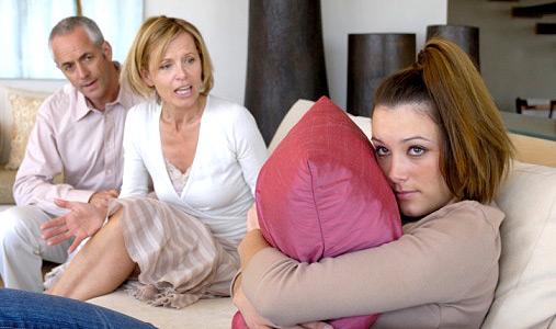 Совместное проживание с родителями требует много терпения