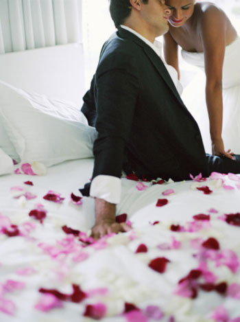 How to spend first wedding night