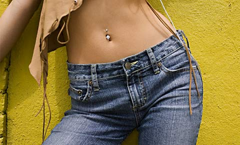 How to make jeans light
