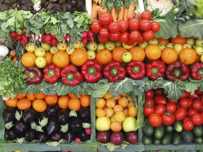 Продажа овощей тем выше, чем правильнее выкладка товара