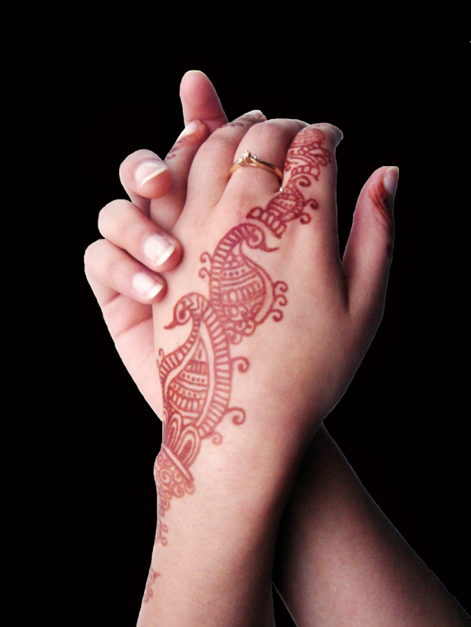 Henna tattoo will come off in 2-3 weeks
