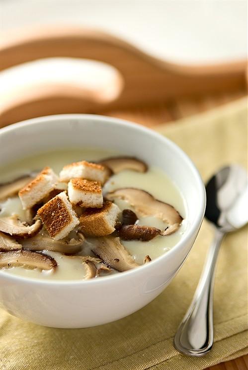 Как приготовить суп из белых грибов