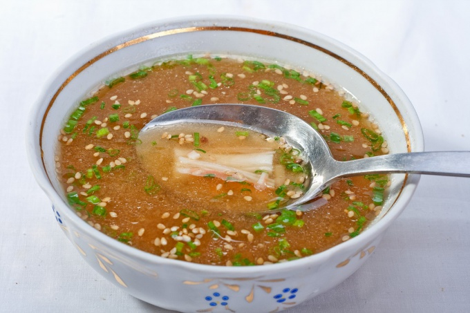 Как приготовить японский суп