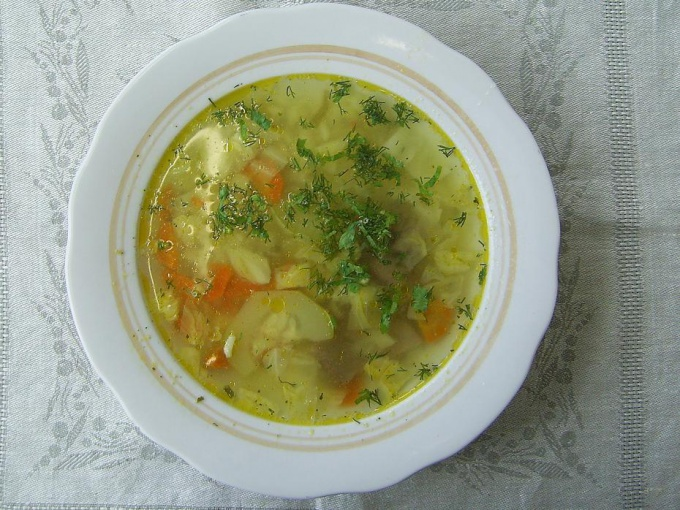 Как готовить кабачковый суп