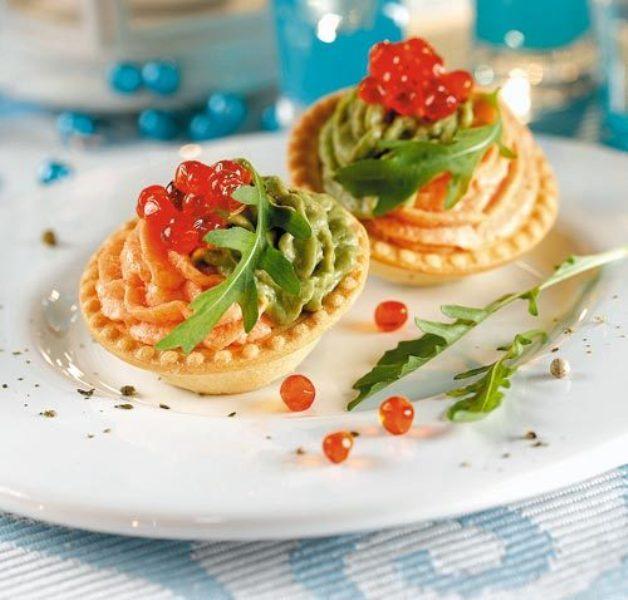 Тарталетки - быстрая и вкусная закуска