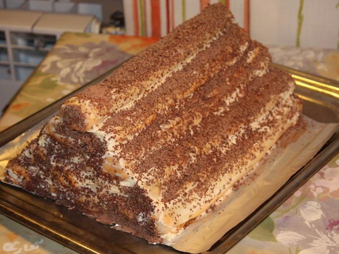 """Как готовить торт """"монастырская изба"""""""