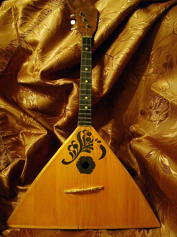 Balalaika is a traditional Russian instrument