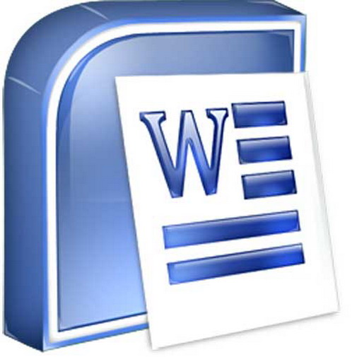 How to print text in word