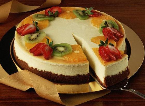 Лакомый кусочек легкого торта