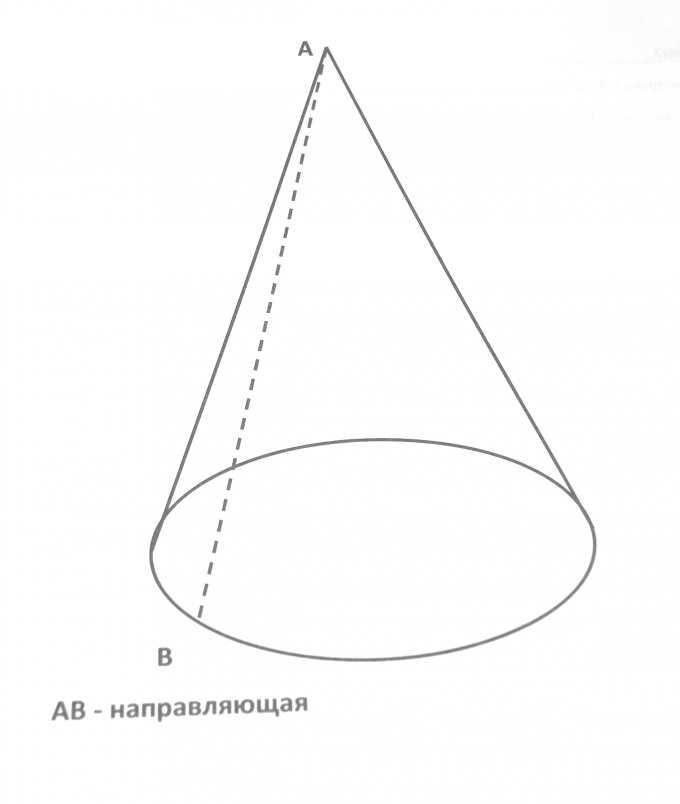 To find surface of a cone, you must know the length of the generatrix