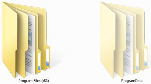 How to open hidden folders in the computer