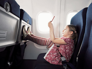 How to send <strong>child</strong> <b>the plane</b>