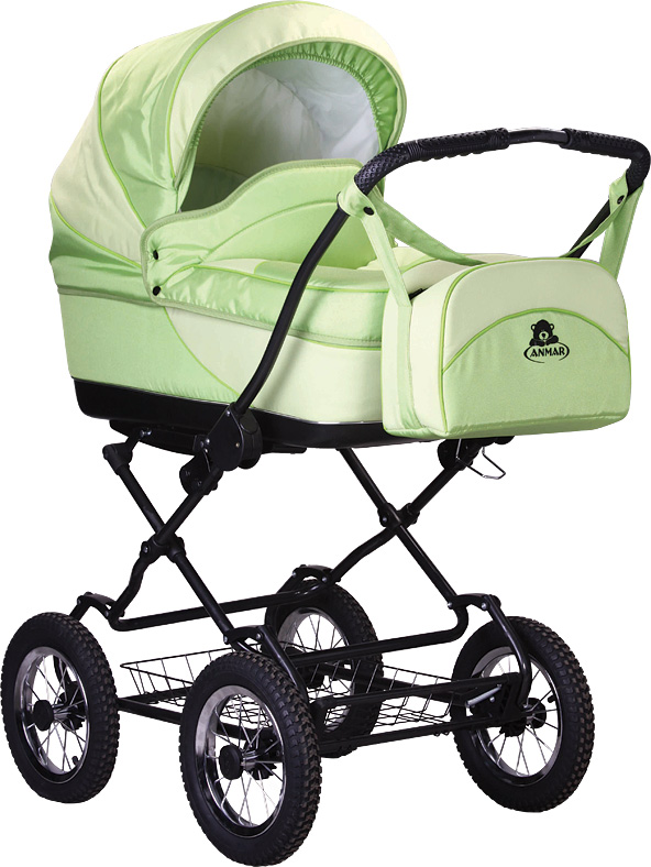 Correctly inflated wheels - a comfortable ride for you and your child
