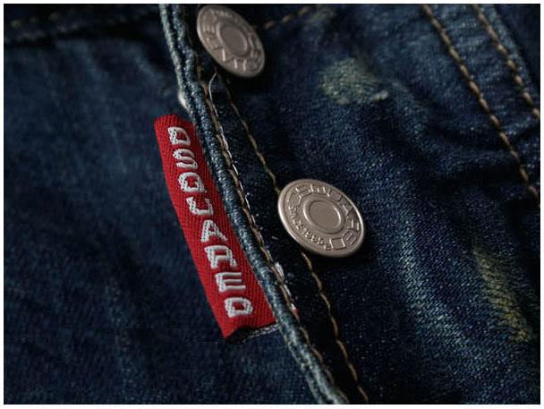 Пуговицы на ширинке джинсов