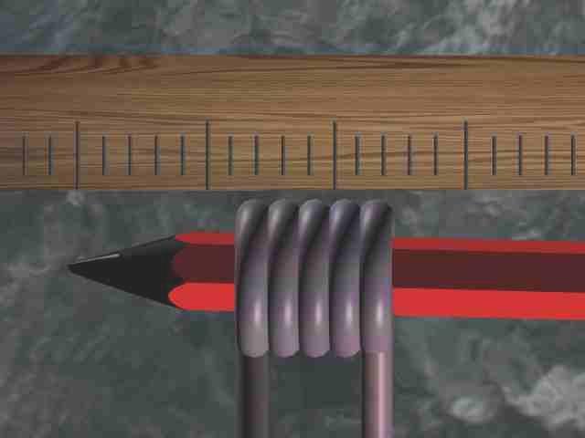 Определение диаметра тонкого провода