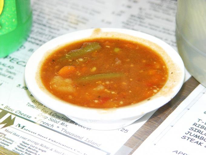 Кислые щи - это национальное русское блюдо.