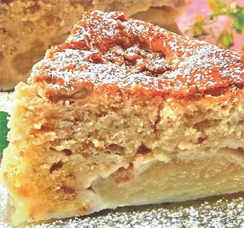 Как готовить яблочный торт