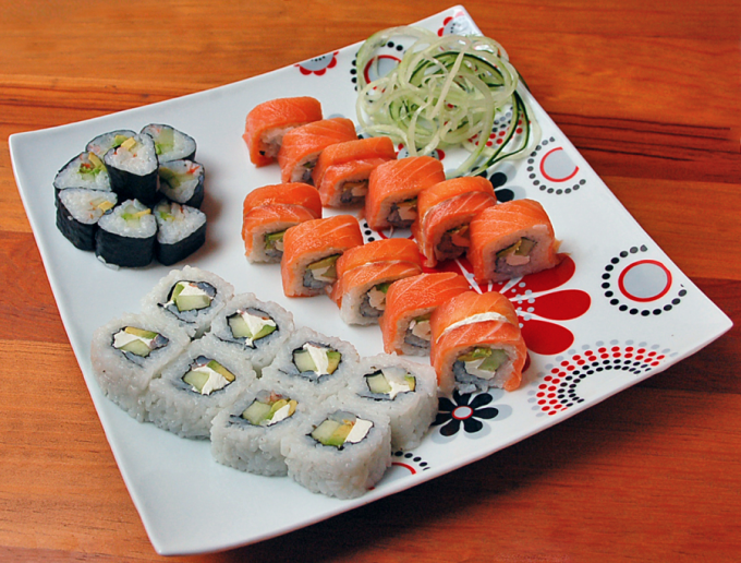 How cool sushi