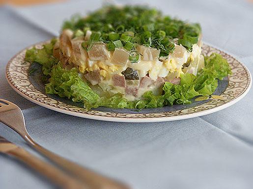 Как приготовить салат зимний