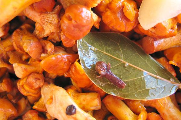 Как готовить маринованные лисички