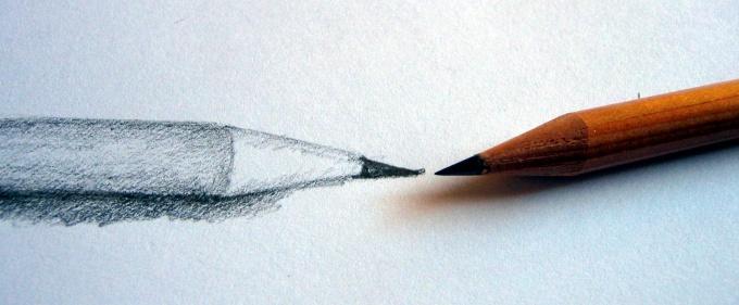 Эскиз карандаша