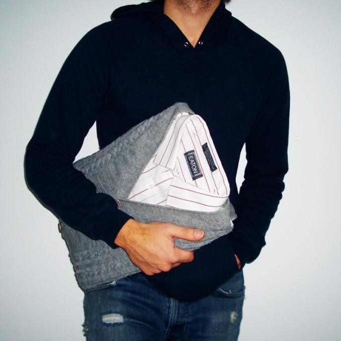Как переделать <strong>свитер</strong>