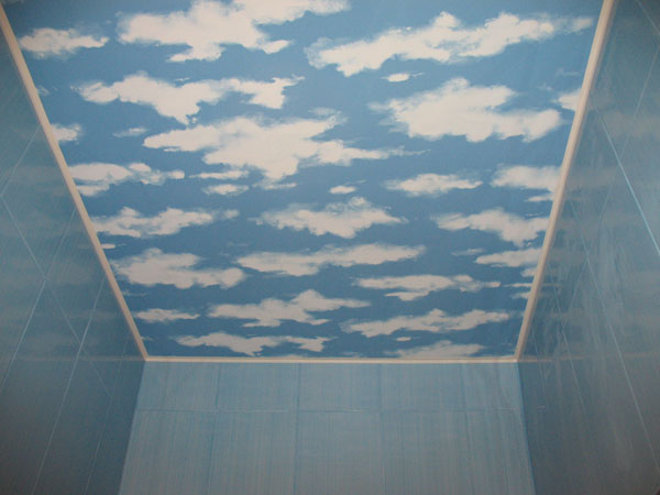 How to paint clouds on the ceiling